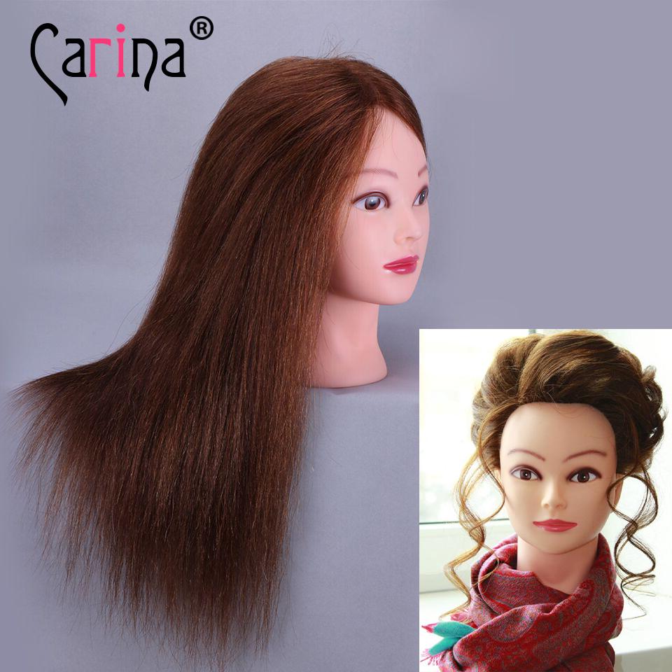 Детский манекен с волосами для причесок