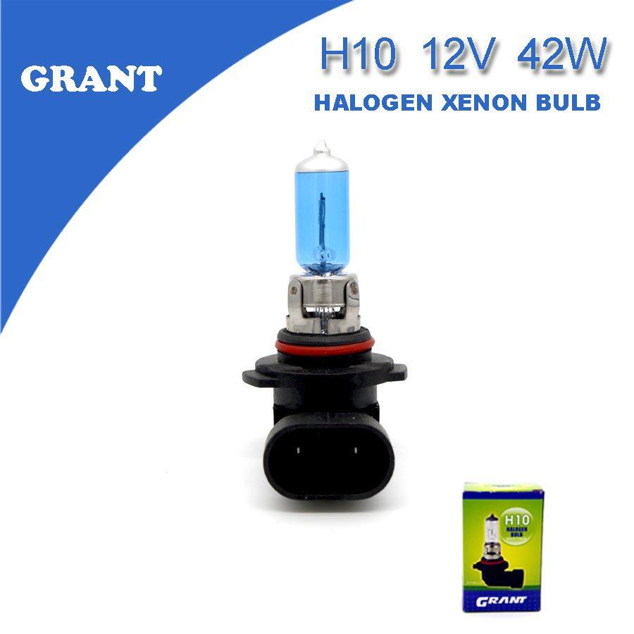 2PCS 2015 GRANT H10 12V 42W Car Halogen Xenon Bulbs 6000K Bright White Foglights Brightness Long Lifetime Reliable Quality(China (Mainland))
