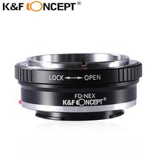 Buy K&F CONCEPT FD-NEX Lens Mount Adapter Ring Canon FD FL Lens Sony Alpha NEX E-Mount Camera Body NEX-7 NEX-6 NEX-5N NEX-5 for $17.79 in AliExpress store