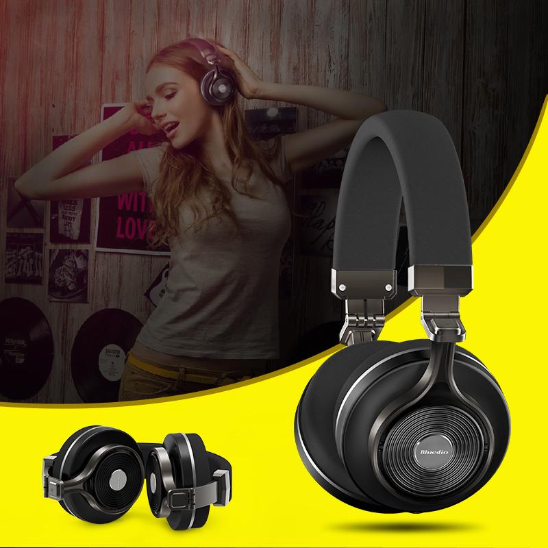 Bluedio T3 Plus Wireless Bluetooth Headphones/headset with Microphone/Micro SD Card Slot bluetooth headphone/headset(China (Mainland))