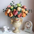 3 pcs lot 2014 fashion wedding silk flower artificial peony flower