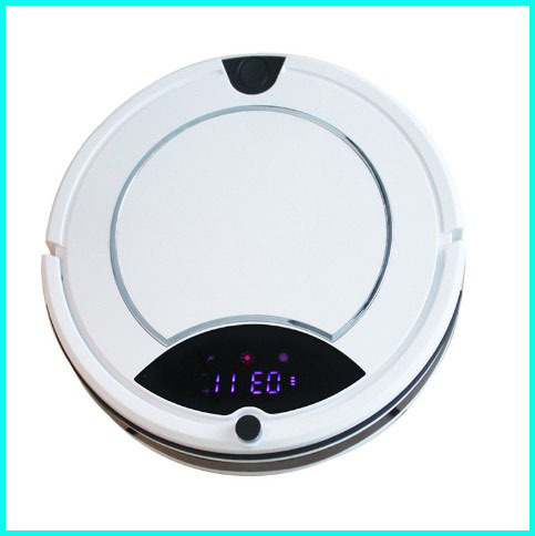 New Never tangel hair Spot clean Auto check dust HEPA Filter robotic vacuum cleaner for home aspirador de po robo(China (Mainland))