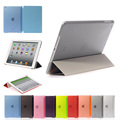 Ultra Thin Silk Magnetic PU Leather Design Smart Case For iPad Air 2 Tablet Slim Cover