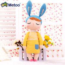 Brinquedos de pelúcia do bebê dos desenhos animados angela coelho macio brinquedos de pelúcia do bebê dos desenhos animados(China)