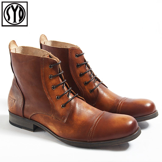Vintage Design Men S Causual Leather Shoes