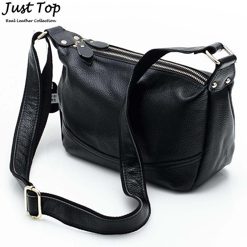 2016 New Arrival Fashion First Layer Cowhide Genuine Leather Woman Handbag Ladies Crossbody Bags Shoulder Handbags High Quality