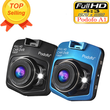 Podofo Mini Car DVR  A1 1080P Full HD DVRs c Recorder G-Sensor Dash Cam Night Vision Camcorder (China (Mainland))