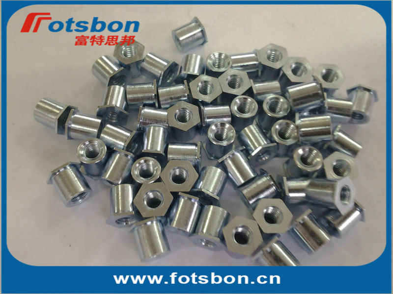 TSO4-256-090  Threaded standoffs for sheets thin as 0.25/ 0.63mm,PEM standard,stainless steel 416,<br><br>Aliexpress