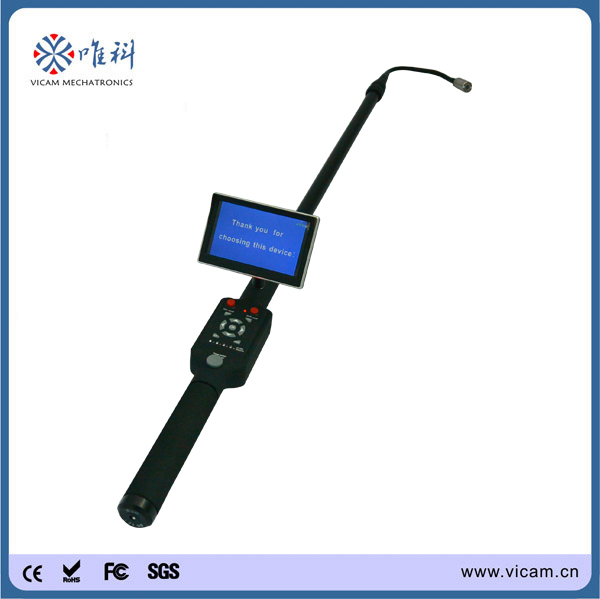 Flexible 23mm camera snake video telescopic pole inspection camera under vehicle inspection camera with 5inch screen(China (Mainland))