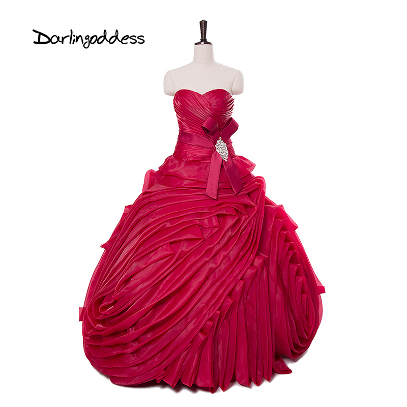 Online get cheap burgundy plus size wedding dresses for Burgundy wedding dresses plus size
