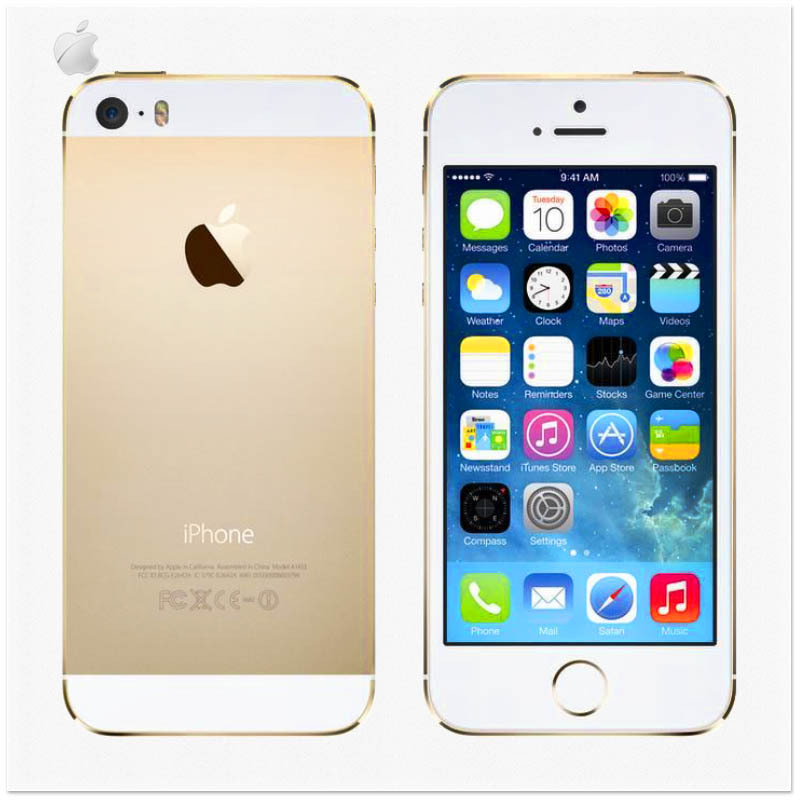 "Original Apple iPhone 5S Unlocked IOS 8 Dual Core 16GB/32GB 4.0""IPS 8MP WIFI GPS 3G&4G Mobile Phone USED(China (Mainland))"