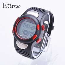Outdoor LED Sports Watches Pedometer Heart Rate Monitor Calories Counter Digital Watch for Men Women Multifunction Watch 58#