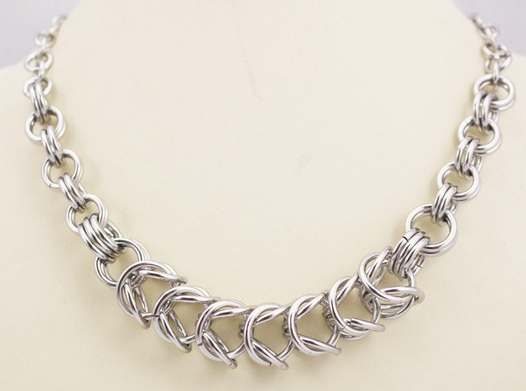 large stainless steel chain necklaces fashions jewelry