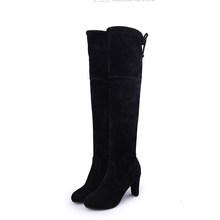 Doratasia Marka yeni büyük boy 35-43 yüksek Topuklu Sıcak Satış Üzerinde Diz Çizmeler Kadın Ayakkabı Kadınlar Seksi streç kumaş Çizmeler Kadın(China)