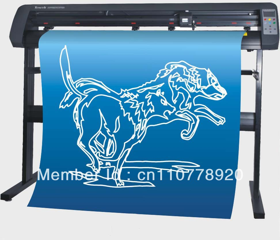 42'' contour cutting plotter TH11800L with optical sensor / TENETH USB driver vinyl cutter plotter(China (Mainland))