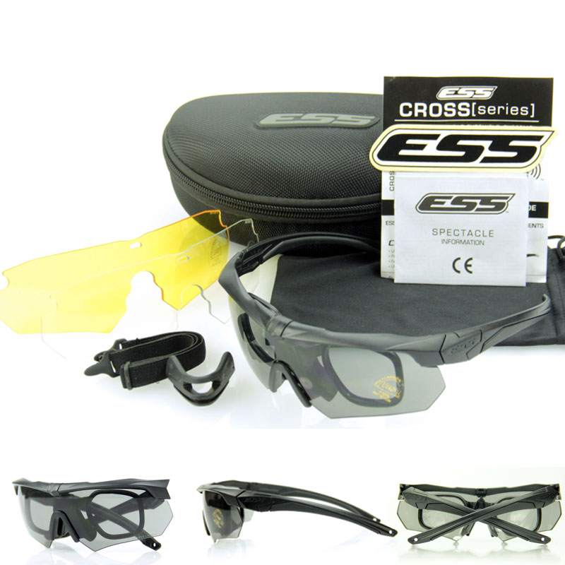 TR90 Material Frame Revo Fire Iridium ESS Crossbow Sports Tactical Army Bullet-proof Goggles Cycling Sunglasses Shooting Eyewear(China (Mainland))
