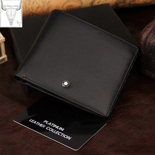 Drop shipping!High quality quality men's genuine leather wallet.Man's best gift, free shipping