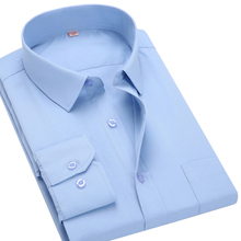 Buy 2016New Men Business Casual Long Sleeved Shirt Male Solid Color Dress Shirt Slim Fit Chemise Homme Camisa Social Masculina for $10.99 in AliExpress store