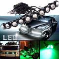 Car styling 18MM Led Eagle Eye DRL Daytime Running Lights Source Backup Reversing Parking Signal Lamps