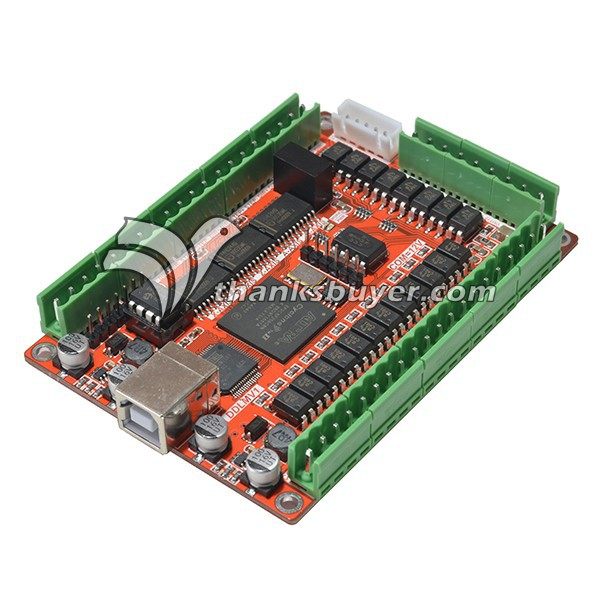 5 Axis 50KHZ Five Axis Stepper Motor Driver Breakout Board USB MACH3 USBCNC Interface Board for CNC Engraving Machine(China (Mainland))
