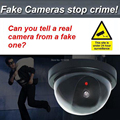 Dome Dummy Security CCTV Camera with Red Blinking LED Fake Motion Detector Sensor Emulational Waterproof camera