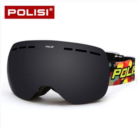 POLISI Winter Ski Snowboard Goggles UV Protection Skate Snow Glasses Men Women Gafas Motocross Goggles Skiing Eyewear<br><br>Aliexpress
