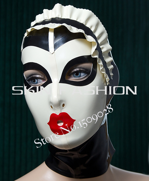 ! Cosplay fashion rubber masks latex hood  -  SKIN FASHION store