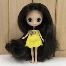 Фабрика Blyth кукла мини Blyth Обнаженная кукла 10 см 10 разных стилей разный цвет случайный для одной одежды(China)