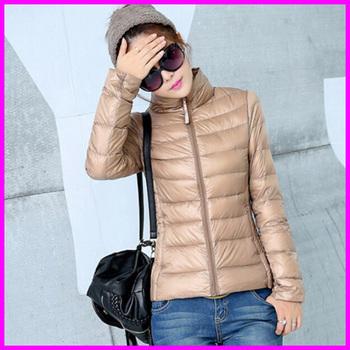2015 новый конструктор мода дамы короткие зимние пальто женщин бренд 90% белая утка пуховик куртки Большой размер XXXL