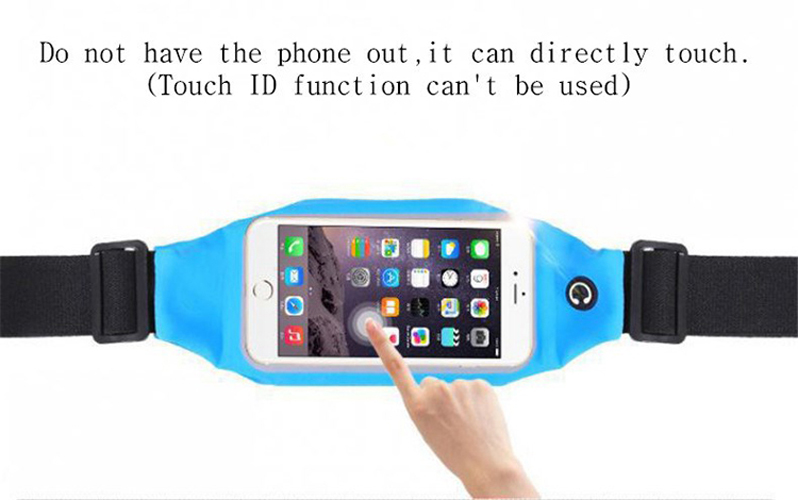 Gym Waterproof Waist Clip Case Cell Phone Case Touch Screen Pouch For HTC Desire 10 Pro,Desire 10 Lifestyle,LeEco Le Pro3(China (Mainland))