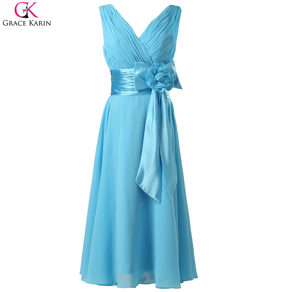 Real photos cheap bridesmaid dresses under 50 grace karin for Cheap wedding dress under 50