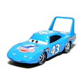A0086 Hot sale children gift Pixar Cars diecast toy Funny blue No 43 Dinoco Car King