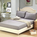modern Sheet pillowcase solid 12 color fitted sheet with elastic bed sheet bedspread mattress protective sheet