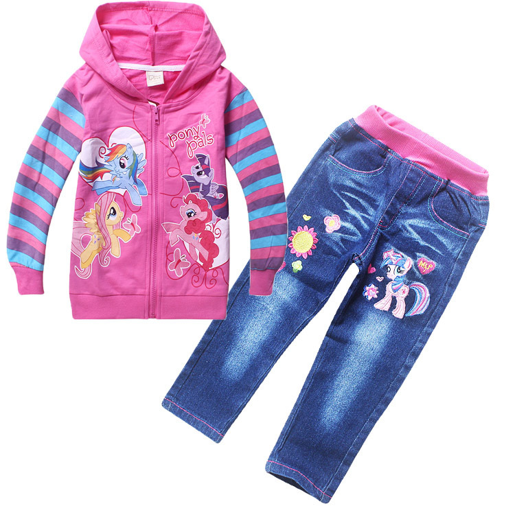 autumn kid tracksuits for children s my pony