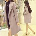 Winter autumn warm women long cashmere coat jackets woolen warm spring female jackets Overcoat woolen coat