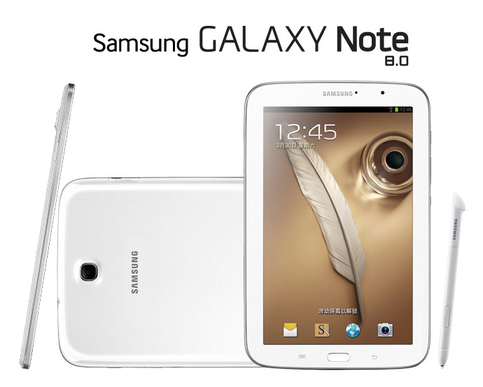 Freeshipping 100% Original Samsung Galaxy Note 8.0 N5110 Tablet Android4.1 Exynos4412 Quad-Core 2GB/16GB WIFI GPS S-pen Tablet(China (Mainland))