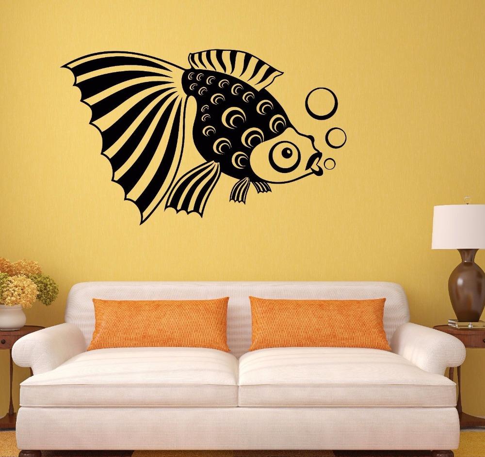Amazing Fish Wall Art Decor Festooning - The Wall Art Decorations ...