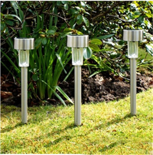 2014 Novelty Ce Ip65 Abs Ba15d Holiday Solar Lights No 6v Outdoor Lighting Solar Lamp 3pcs New Led Path Light Garden Landscape L(China (Mainland))