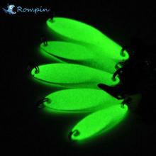 Buy Rompin Luminous Fishing Lures artificial bait lure metal lure treble hook Baits 7g 10g 14g jig wobbler lure fishing tackle for $1.11 in AliExpress store