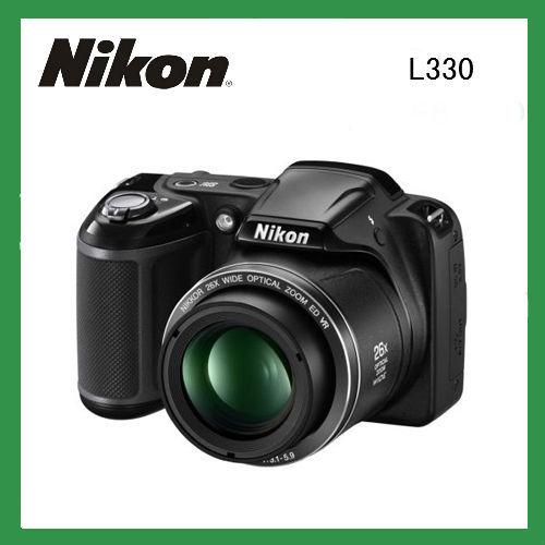 Original nikon digital camera photo camera L330 Optical Zoom with16MP 720p HP Digital Multilingual camera fotografica nikon(China (Mainland))