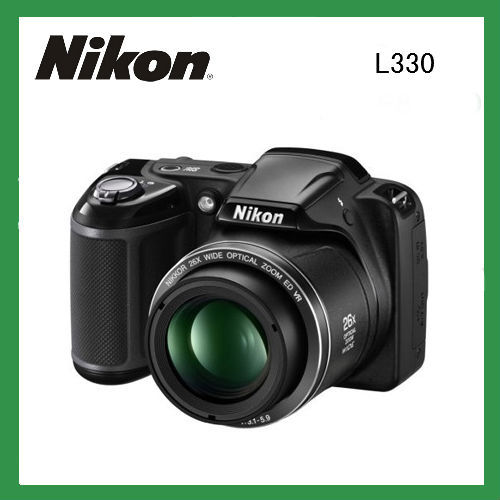 Original nikon digital camera photo camera L330 Optical Zoom with16MP 720p HP Digital Multilingual camera fotografica nikon