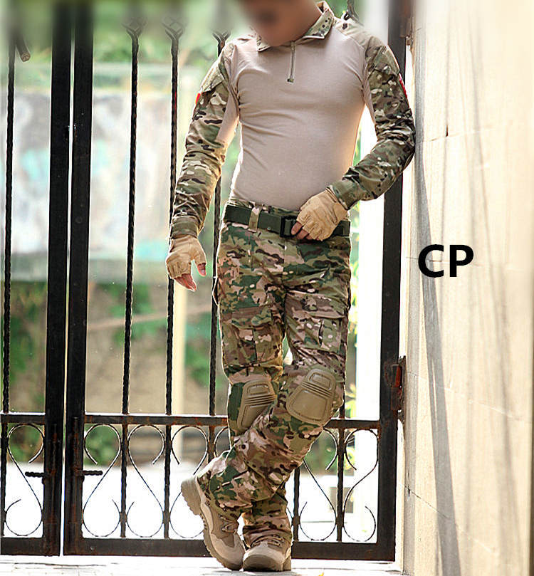 Tactical--uniform-clothing-army-of-the--combat-uniform-tactical-pants-with-knee-pads-camouflage (1)