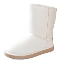 HEE GRAN Invierno de Las Mujeres Impermeables Botas de botas para la Nieve Botas de Mitad de la Pantorrilla de LA PU Zapatos de Plataforma Mujer Slip On Pisos de Alta Calidad enredaderas XWX5219(China (Mainland))