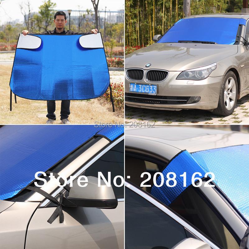 Car Sun Shade Window Sunshade Covers Visor Shield Screen Foldable Bubbles Auto Sun Reflective Shade Windshield(China (Mainland))