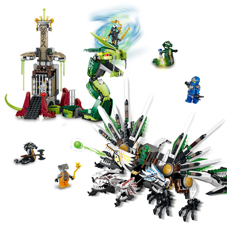Ninjagoed Marvel Ninja Building Block Model Kits Brick Toys Minifigures Compatible Legoe - Cy Super store