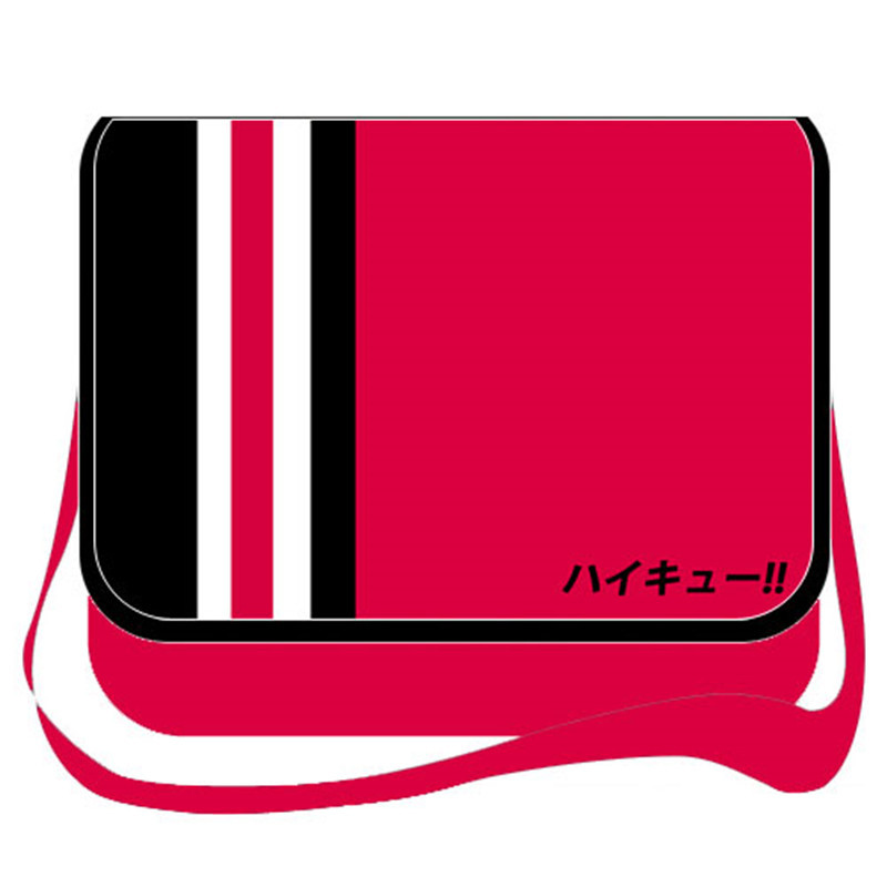 Haikyuu Hinata Syouyou Messenger Bag Haikiyu! Cartoon Cosplay Canvas Schoolbag Travelling Bag Casual Shoulder Bags