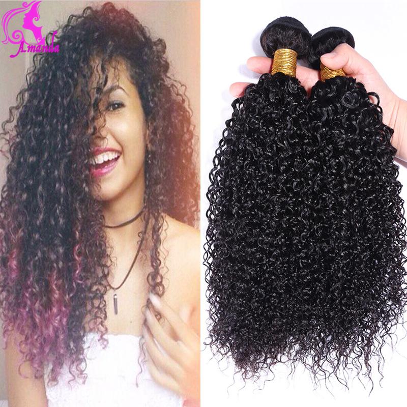 Crochet Braids With Human Hair Curly  Long Weave