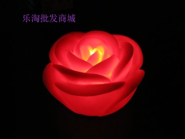 red rose night light led lamp wholesale valentines day wedding party birthday gift decorative. Black Bedroom Furniture Sets. Home Design Ideas