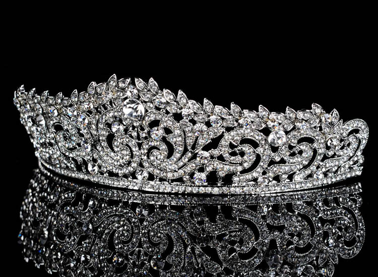Topwedding Rhinestones Bridal Headpiece Wedding Tiara Crown, women_ (3)