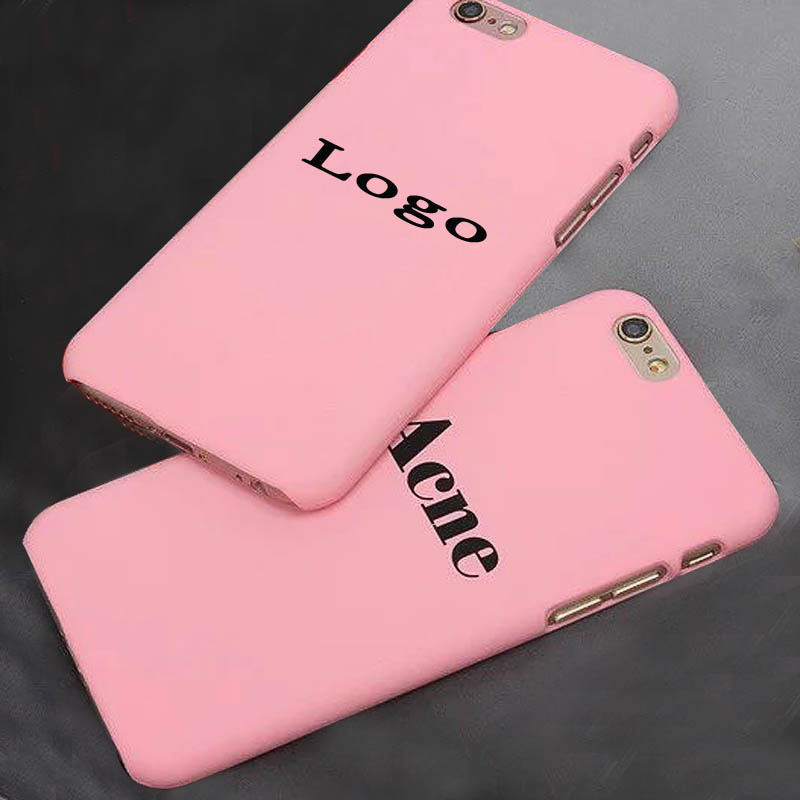 Matte Coque Case Cover for iPhone 5 5s 6 6s 6plus Famous Brand Logo Caso Hard Scrub English Letter Back Capa Fundas Housing(China (Mainland))